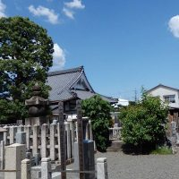墓地の風景